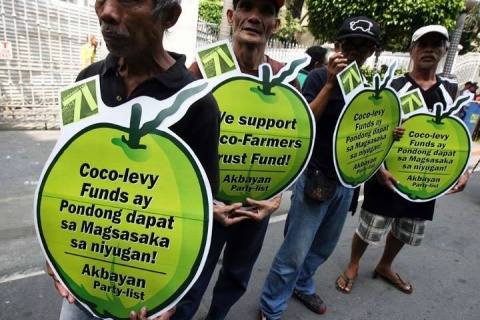 AKBAYAN challenges Digong to follow through on coco levy utilization to benefit coconut farmers
