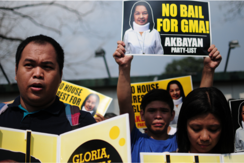 Akbayan on 'sneaky' Arroyo bail petition: Not on our watch
